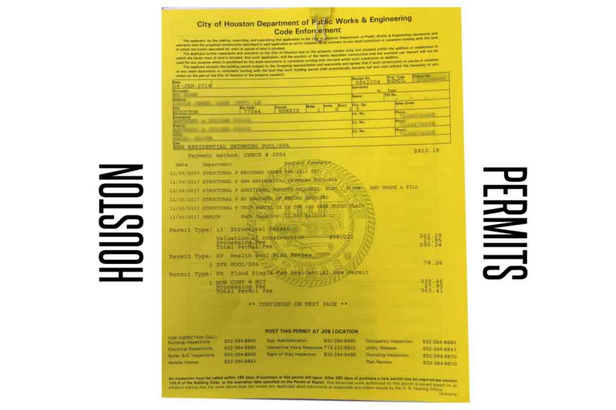 Houston Permits