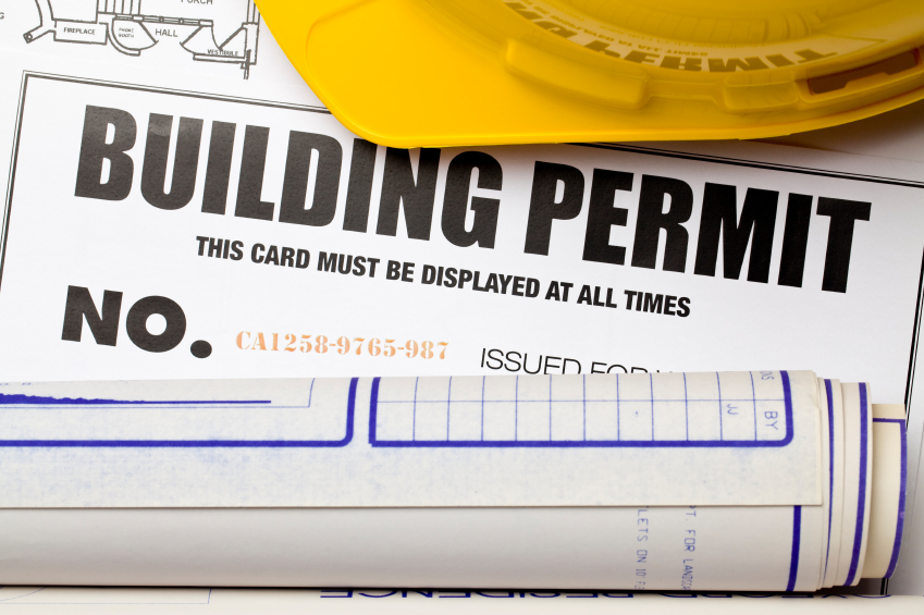 Houston Building permit during covid 19 depiction